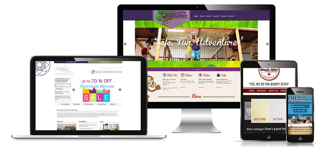 Mobile Friendly Kamloops Websites that work on all of your devices